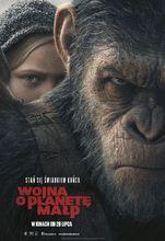 Plakat filmu Wojna o Planetę Małp
