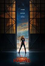 Plakat filmu Kapitan Marvel