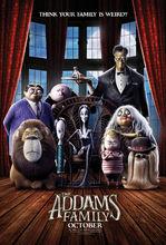 Plakat filmu Rodzina Addamsów