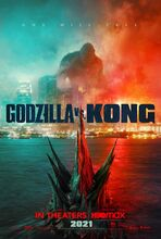 Movie poster Godzilla vs. Kong