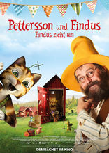 Plakat filmu Pettson i Findus - Wielka wyprowadzka